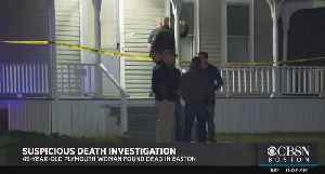 Woman Found Shot Dead In Easton Home ID'd As Tamra Davidson Of Plymouth [Video]