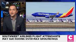 Southwest Airlines Flight Attendants Might Sue Boeing for Lost Pay [Video]
