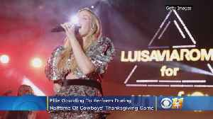 Ellie Goulding To Perform During Halftime Of Cowboys Thanksgiving Day Game [Video]