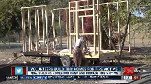 Volunteers Build Tiny Homes for Fire Victims [Video]