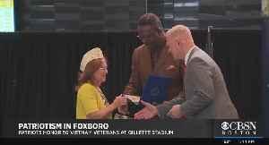 Patriots Honor 50 Vietnam Veterans At Gillette Stadium [Video]