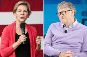 News video: Elizabeth Warren Offers to Explain Wealth Tax Plan to Bill Gates