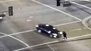Video Shows Shocking Downtown Los Angeles Hit and Run [Video]