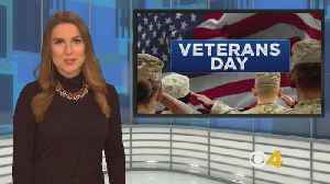 News video: Veterans Day Deals & Discounts: Boston-Area Restaurants Offering Free Meals Monday