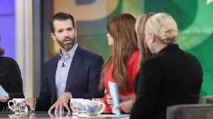 'The View' Melts Down During Donald Trump Jr., Kimberly Guilfoyle Visit | THR News [Video]
