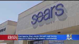 News video: Kmart and Sears Company Closing 96 Stores Nationwide