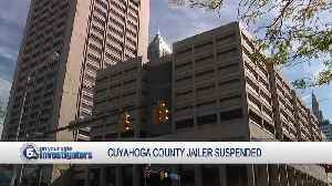 Another Cuyahoga County jailer suspended for allegedly punching, kicking inmate [Video]
