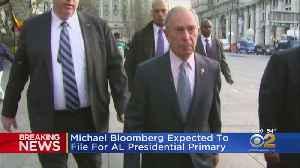 News video: Former Mayor Michael Bloomberg Reconsidering 2020 Presidential Run