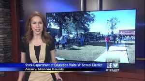Mississippi State Department of Education visits 'A' school district. [Video]