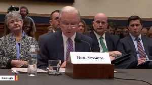 Jeff Sessions Launches Senate Bid, Says Trump's Doing A 'Great Job' [Video]