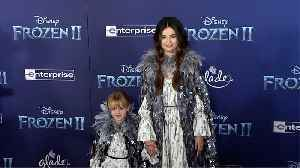 "Selena Gomez, Gracie Teefey ""Frozen 2"" World Premiere Red Carpet [Video]"