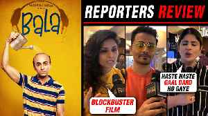Bala Movie HONEST Reporters Review | Ayushmann Khurrana, Yami Gautam | First Day First Show [Video]