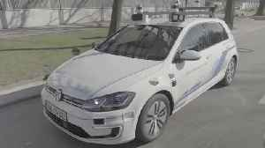Autonomous driving with the Volkswagen e-Golf [Video]