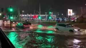 Heavy rainfall floods streets of Rotherham [Video]