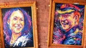 Paintings of Meghan and Harry Stolen Right Off of a Pub Wall [Video]