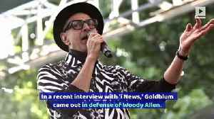 Jeff Goldblum Receives Backlash for Defending Woody Allen [Video]