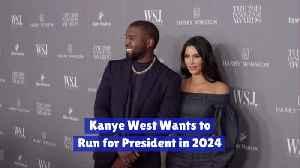 Kanye Seeks The Presidency [Video]