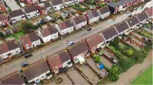 Northern England Gets A Months Worth Of Rain In 24 Hours [Video]