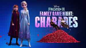 Frozen 2 movie - Charades with the voice cast [Video]