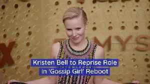 Kristen Bell Is In The 'Gossip Girl' Reboot [Video]