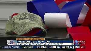 Baltimore veteran gets new car as part of 'Keys to Progress' program [Video]