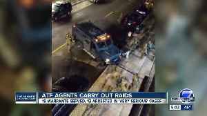 12 arrested as ATF agents, local law enforcement serve warrants in Denver metro area [Video]