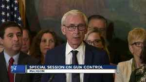 Wisconsin GOP to dodge governor's call for gun control bills [Video]