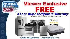 Appliance Factory And Mattress Kingdom- Black Friday Sale [Video]