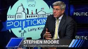 Stephen Moore discusses US economy under Donald Trump [Video]