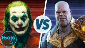 Joker vs. Thanos: Who's the Greatest Villain of 2019? [Video]