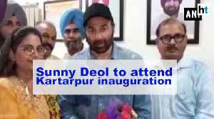 Actor & BJP MP Sunny Deol to attend Kartarpur Corridor inauguration [Video]