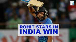Rohit Sharma leads India to victory in 2nd T20I against Bangladesh [Video]
