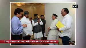BJP delegation meets Maharashtra Governor discusses political deadlock in state [Video]
