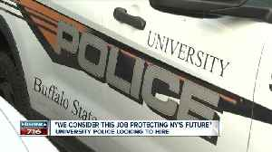 University Police looking to hire [Video]