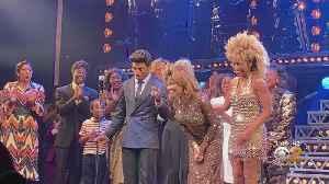 News video: Tina Turner Makes Surprise Appearance At Tina Turner Musical