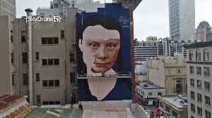 News video: Mural in Downtown S.F. Depicts Swedish Teen Climate Activist Greta Thunberg