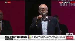 Jeremy Corbyn Addressing Rally In Manchester [Video]