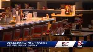 Restaurant worker dies after hazmat incident [Video]