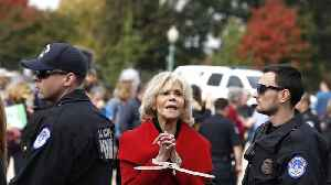 Jane Fonda has to 'be careful' to avoid regular protest arrests [Video]