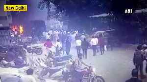 Tis Hazari Court scuffle Lady DCP being roughed up in clash in Delhi [Video]