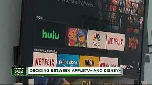 News video: Apple TV Plus vs. Disney Plus: Should you sign up with Apple now, or wait for Disney?