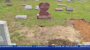 Another Visit To The Troubled Homewood Memorial Gardens Cemetery, And Attention From The Cook County Sheriff's Office [Video]