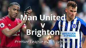 News video: Premier League match preview: Manchester United v Brighton