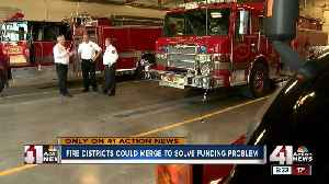 Fire districts could merge to solve funding problem [Video]