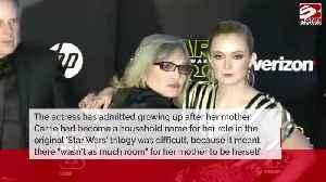 Billie Lourd 'didn't like' Princess Leia growing up [Video]