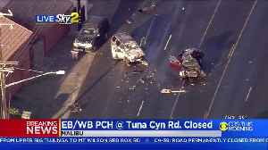 Fatal Crash Shuts Down Both Directions Of PCH In Malibu [Video]