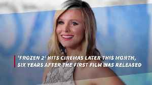Kristen Bell: Frozen 2 had to be right [Video]