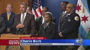 News video: Charlie Beck Interim Chicago Police Superintendent