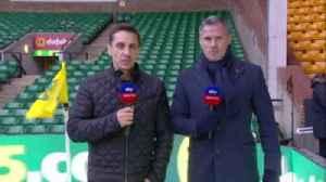 News video: Carra, Nev talk Liverpool vs Man City