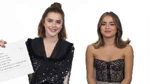 Kiernan Shipka & Isabela Merced Answer the Web's Most Searched Questions [Video]